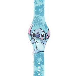 Stitch Floral Ribber LED Watch from Hot Topic
